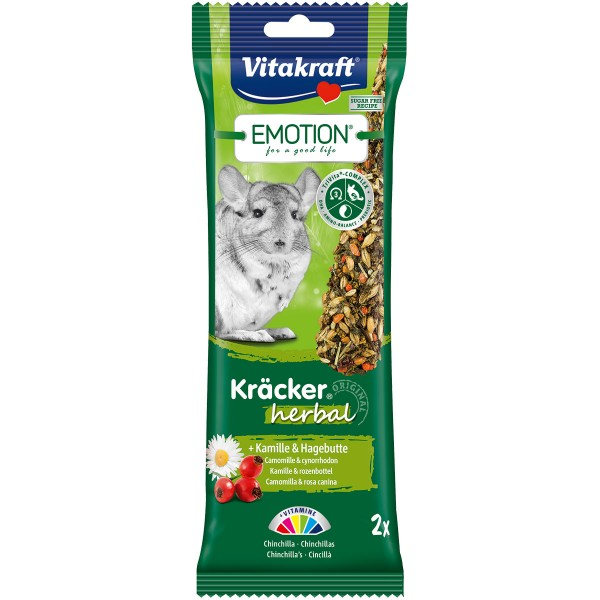Vitakraft Emotion Kräcker Herbal Chinchillas 2 Stück