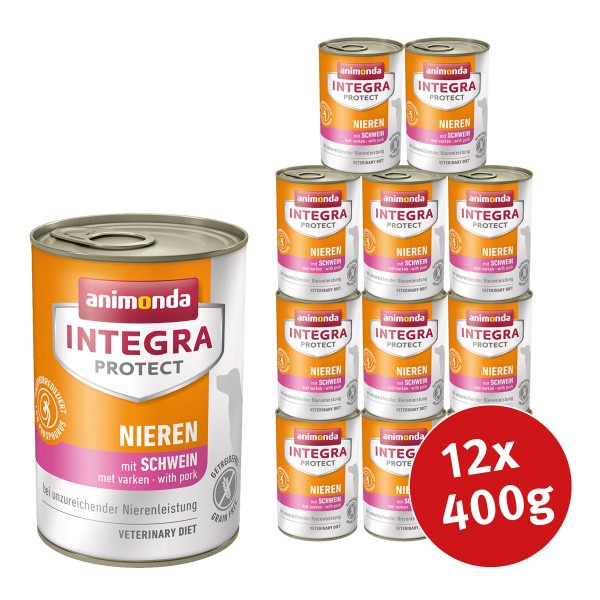 Animonda Integra Protect Hundefutter Adult chronische Niereninsuffizienz Schwein