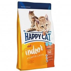 Happy Cat Supreme Indoor Adult Atlantik-Lachs 3x4kg