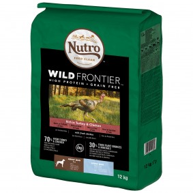 Nutro Adult Wild Frontier Svysokým obsahem krocaního akuřecího masa, pro velké psy