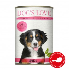 Dog's Love Junior Rind mit Karotte & Salbei