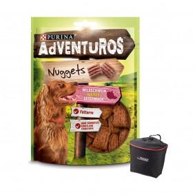 AdVENTuROS Nuggets 3x90g + Futterbeutel gratis