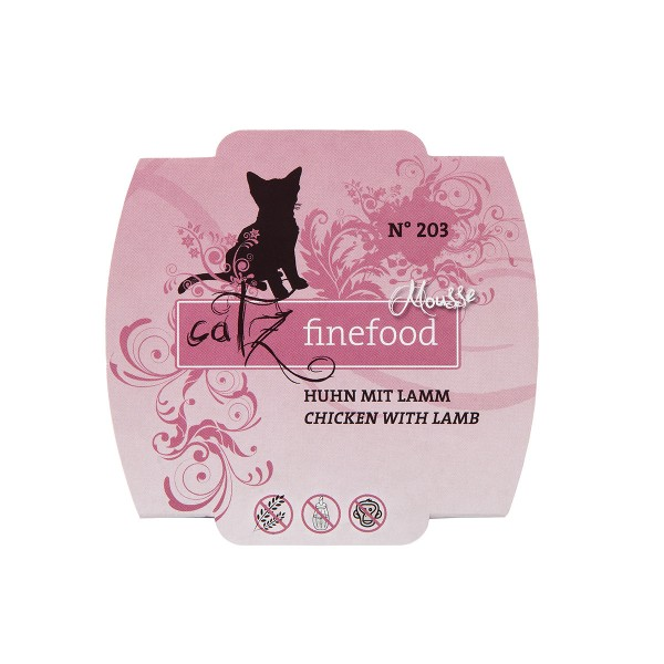 Catz finefood Mousse N°203 Huhn mit Lamm 100g