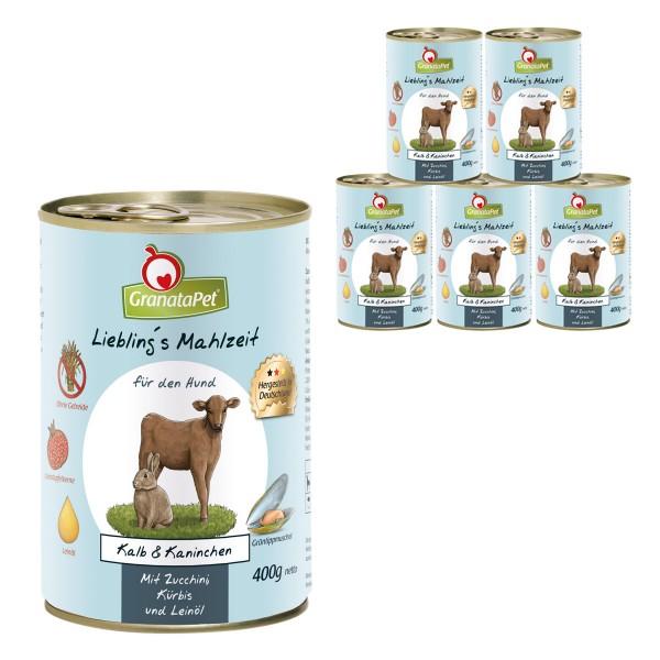 GranataPet Lieblingsmahlzeit Kalb&Kaninchen