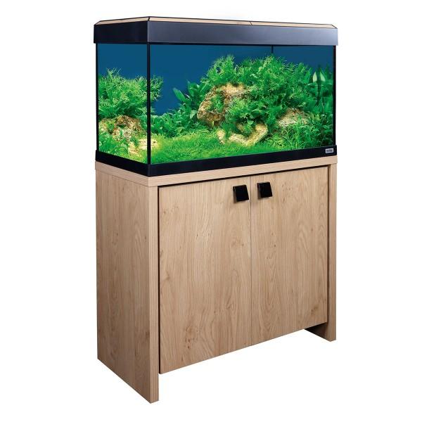 Fluval Aquarium Roma 125 Kombination - Eiche/Sc...
