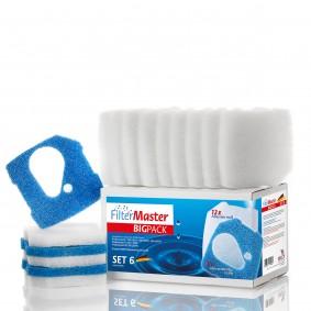 Filtermaster Filtermedien BigPack Set 6 für Eheim Professionel 3