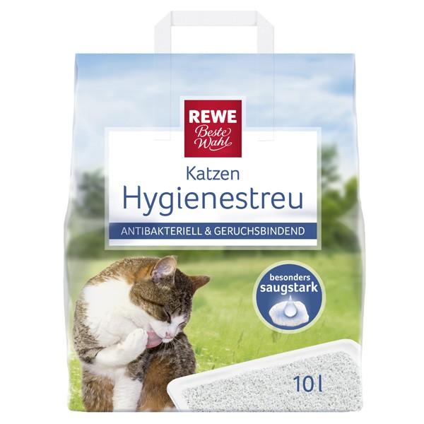 REWE Beste Wahl Hygienestreu für Katzen 10l
