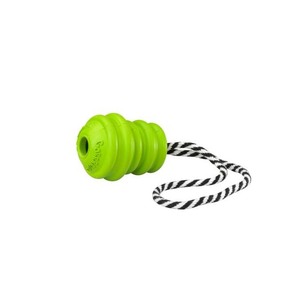 Europet-Bernina GORRRRILLA TUG-O-WAR Gummispielzeug am Seil in Grün - Small jetztbilligerkaufen