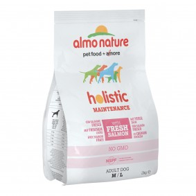 Almo Nature Holistic Medium Dog mit Lachs und Reis