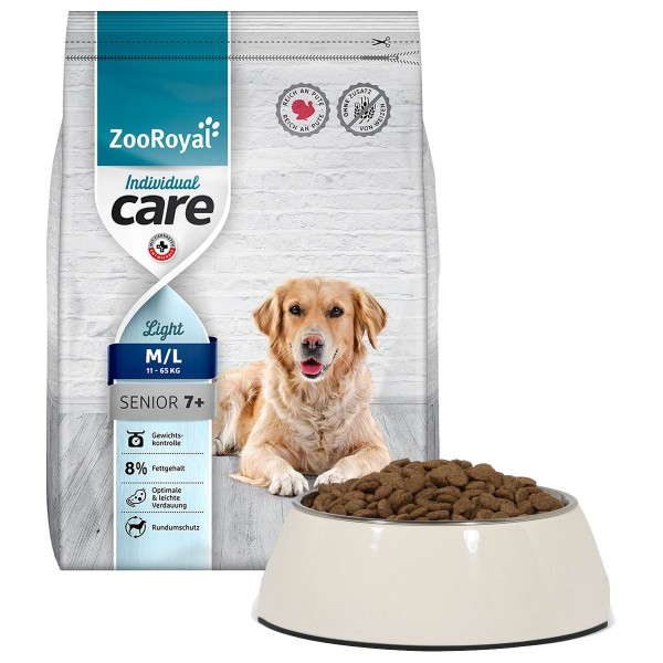 ZooRoyal Individual care - Senior / Light reich an Pute