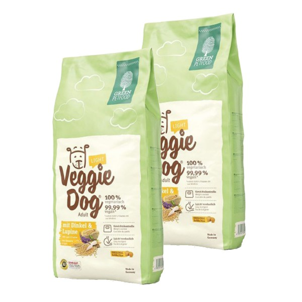 Green Petfood VeggieDog light 2x15kg