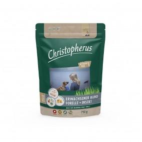 Christopherus Getreidefrei - Forelle + Insekt 750g