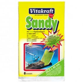 Vitakraft Sandy Vogelsandteppich 8 Stück