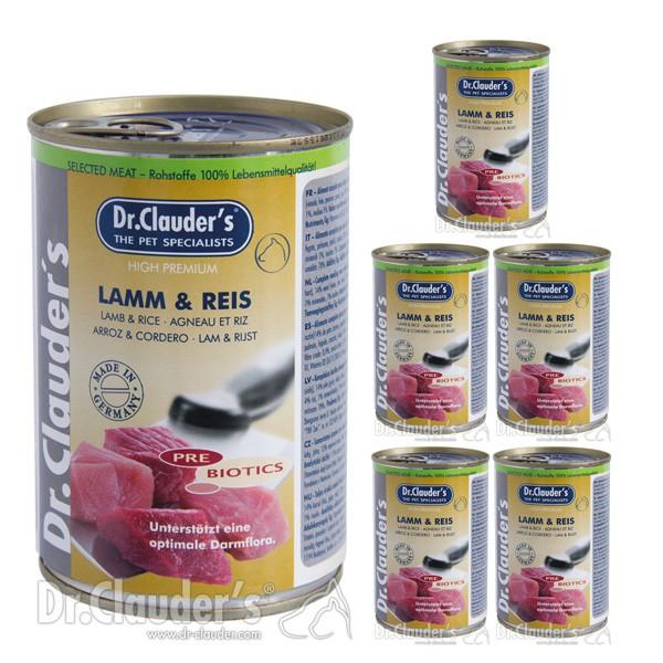 Dr. Clauders -Selected Meat PreBiotics 6x400g