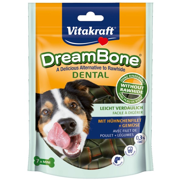 Vitakraft Hundesnack DreamBone Dental Mini 7 Stück