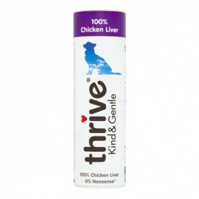 thrive Kind & Gentle 100% Hühnerleber Hundesnack 25g