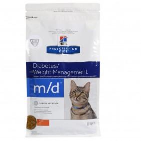 Hill's Prescription Diet m/d Diabetes & Weight Management Katzenfutter mit Huhn