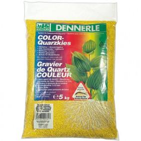 Dennerle Color Quarzkies Panamagelb 5kg