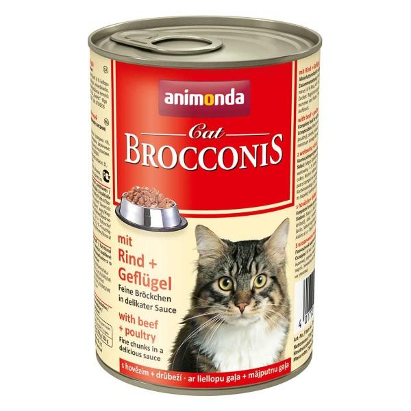 Animonda Katzenfutter Brocconis Rind und Geflügel