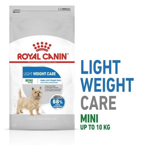 ROYAL CANIN LIGHT WEIGHT CARE MINI Trockenfutter für zu Übergewicht neigenden Hunden