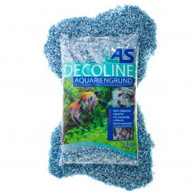 AS Decoline Aquarienkies blau-weiß 5 kg