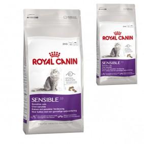 Royal Canin Katzenfutter Sensible 33 4 Kg + 400 g gratis