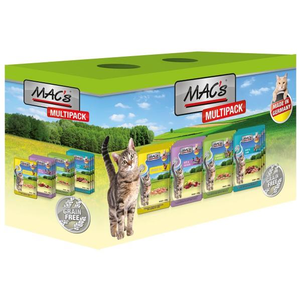 MAC's Cat Multipack nur Fleisch