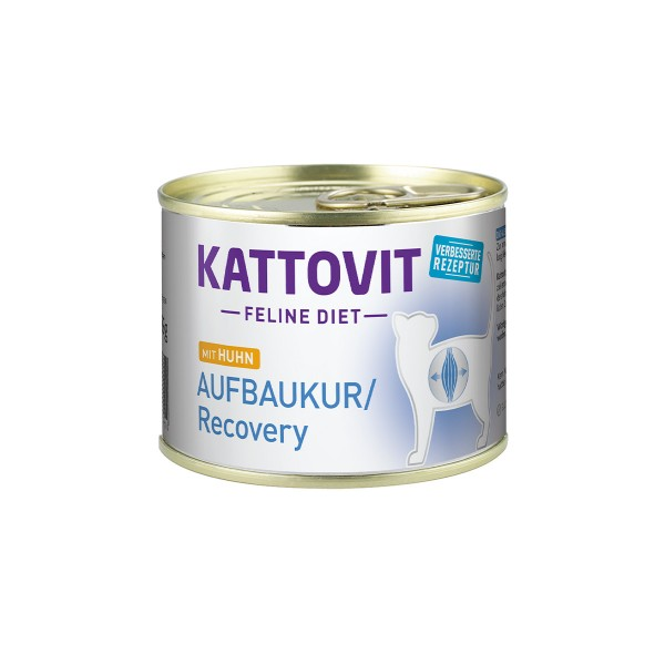 Kattovit Feline Diet Aufbaukur/Recovery Huhn