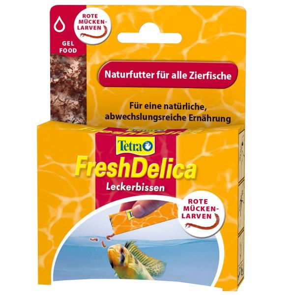 Tetra Gelfutter FreshDelica Rote Mückenlarven 48g