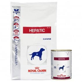 Royal Canin Vet Diet Hepatic HF 16 6kg + 12x420g