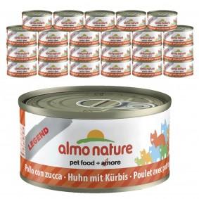 Almo Nature Legend Katzenfutter 24x70gHuhn & Kürbis