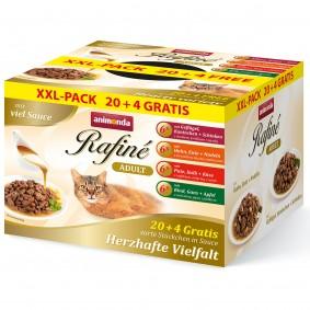 animonda Rafiné Adult Adult 20 + 4 GRATIS Mixpack 24 x 100 g