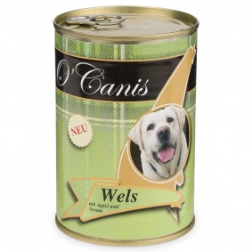 O'Canis Hundefutter Wels mit Apfel, Sesam, Minze und Petersilie