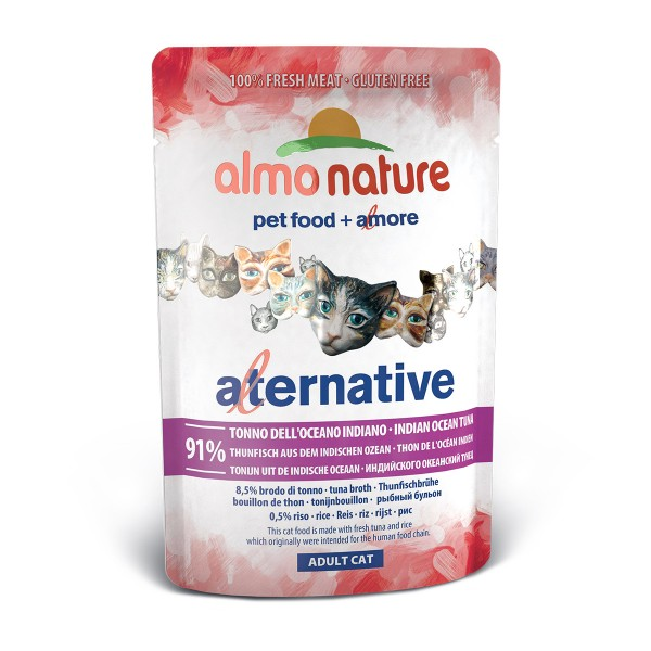 Almo Nature Alternative wet Cat Thunfisch aus dem Indischen Ozean