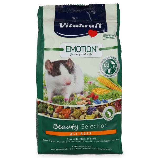 Vitakraft Emotion Beauty Selection Ratten 600g