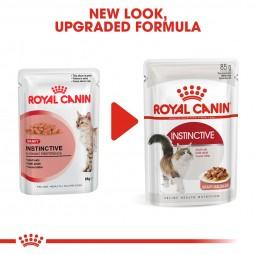 ROYAL CANIN INSTINCTIVE Katzenfutter nass in Soße 12x85g