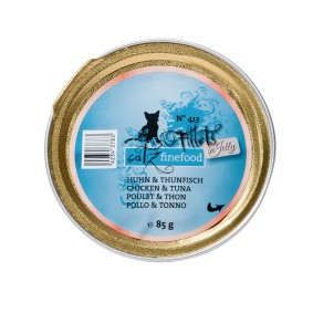 catz finefood Fillets N°413 Huhn & Thunfisch in Jelly