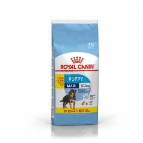 ROYAL CANIN MAXI Puppy Trockenfutter für Welpen großer Rassen 15+3kg OF