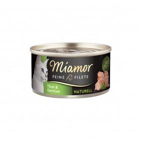 Miamor Feine Filets Naturell Thunfisch & Gemüse