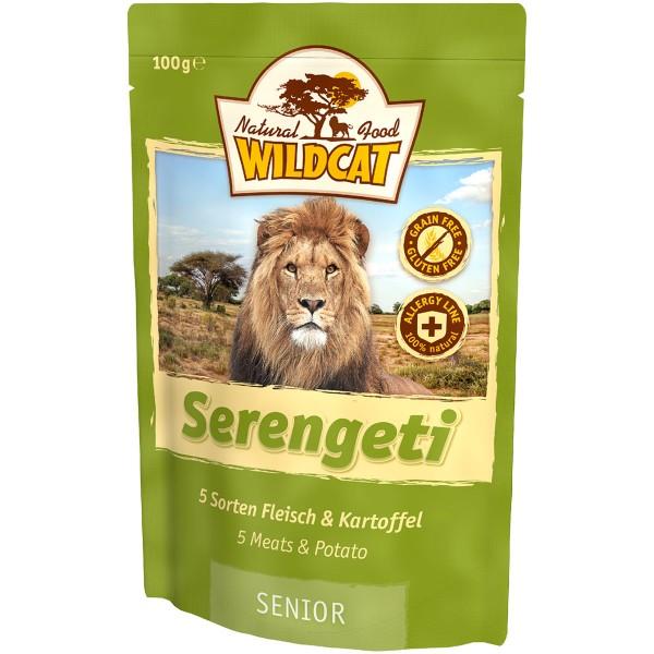 Wildcat Serengeti Senior 5 Sorten Fleisch&Kartoffel