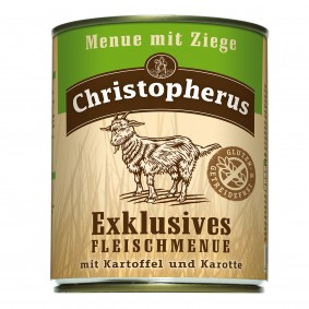 Christopherus Exklusives Fleischmenü Ziege
