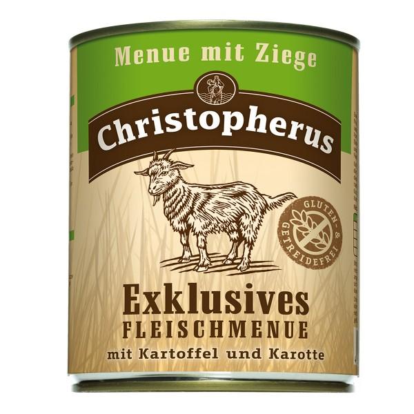 Christopherus Exklusives Fleischmenü Ziege 6x800g