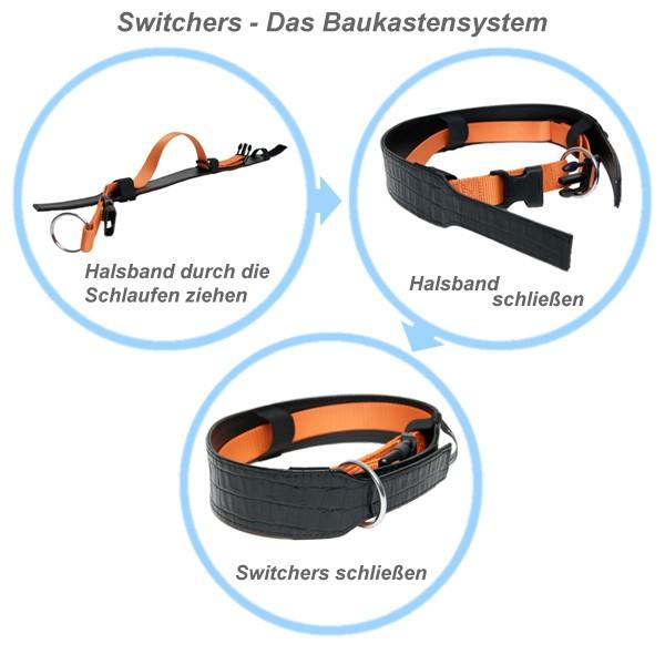 Switchers Halsbandüberzug Sardurry