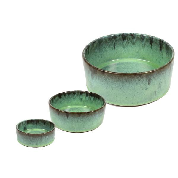 D&D Home Keramiknapf Jasper grün
