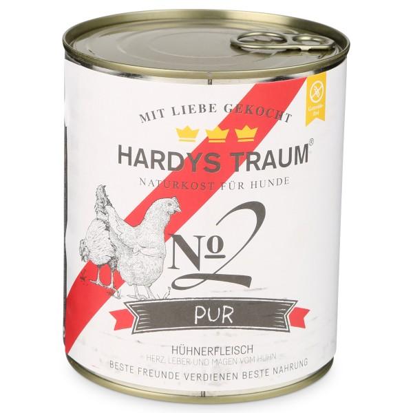 Hardys Traum Nassfutter Pur No. 2 Huhn
