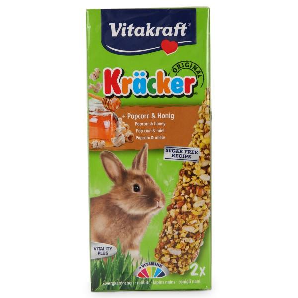 Vitakraft Zwergkanichen Kräcker mit Popcorn & Honig
