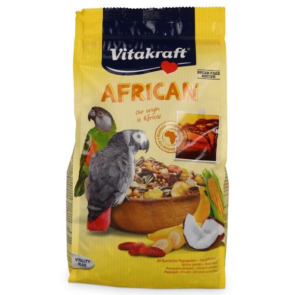 Vitakraft Vogelfutter für afrikanische Papageien 750g