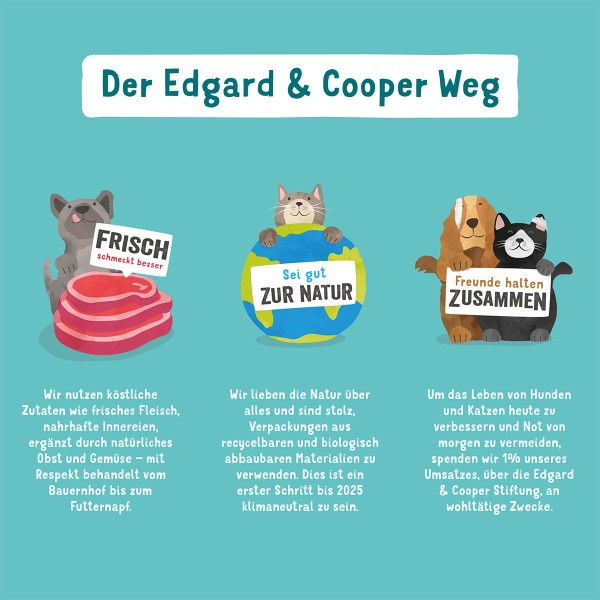 Edgard & Cooper Powerriegel Lamm & Rind