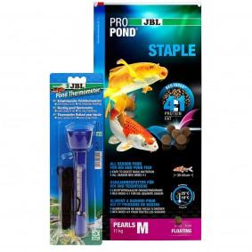 JBL ProPond Staple M 11kg + Thermometer Gratis