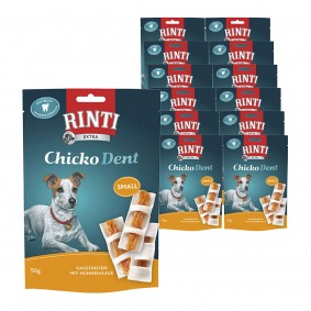 Terpe Angebote Finnern Rinti Hundesnack Chicko Dent Huhn small 12x50g